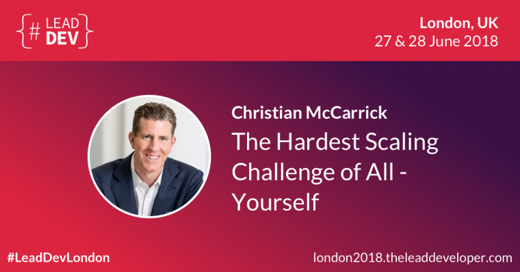 The Lead Developer - Christian McCarrick